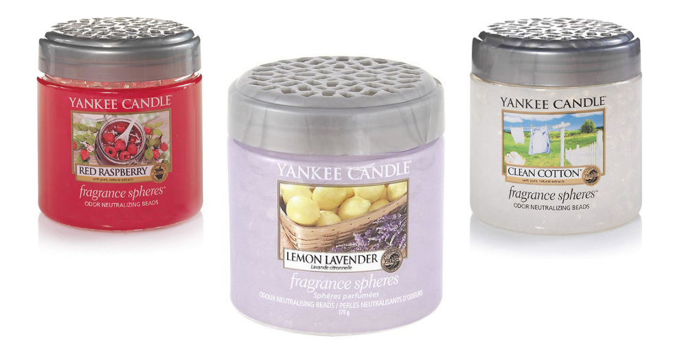 Free Giveaway: Yankee Candle Fragrance Spheres