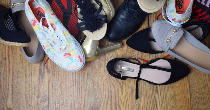 Clever Shoe Storage Ideas