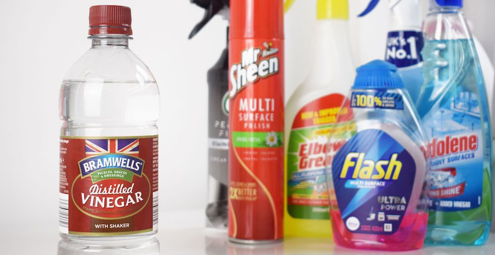 White Vinegar For Cleaning: How To Use Vinegar Around The Home