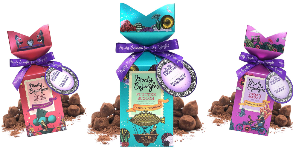 Free Giveaway: Monty Bojangles Cocoa Dusted Truffles
