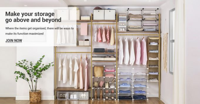 Free Storage Organisers