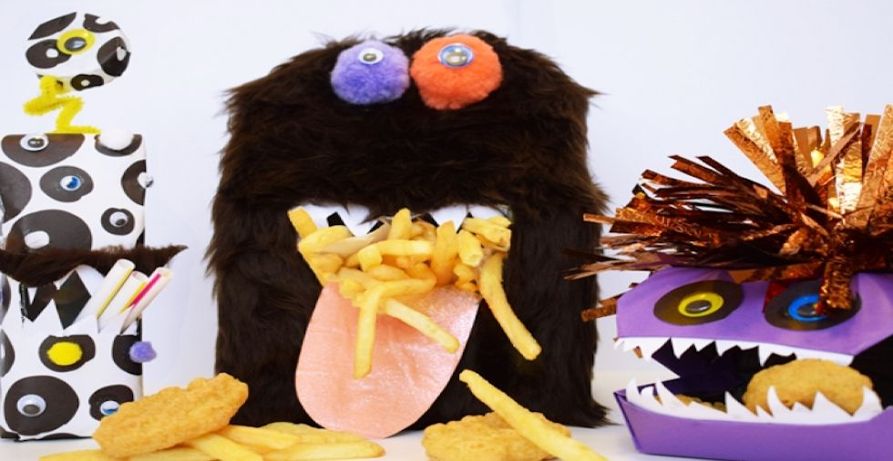 Halloween Craft: McDonald's Happy Meal Monsters