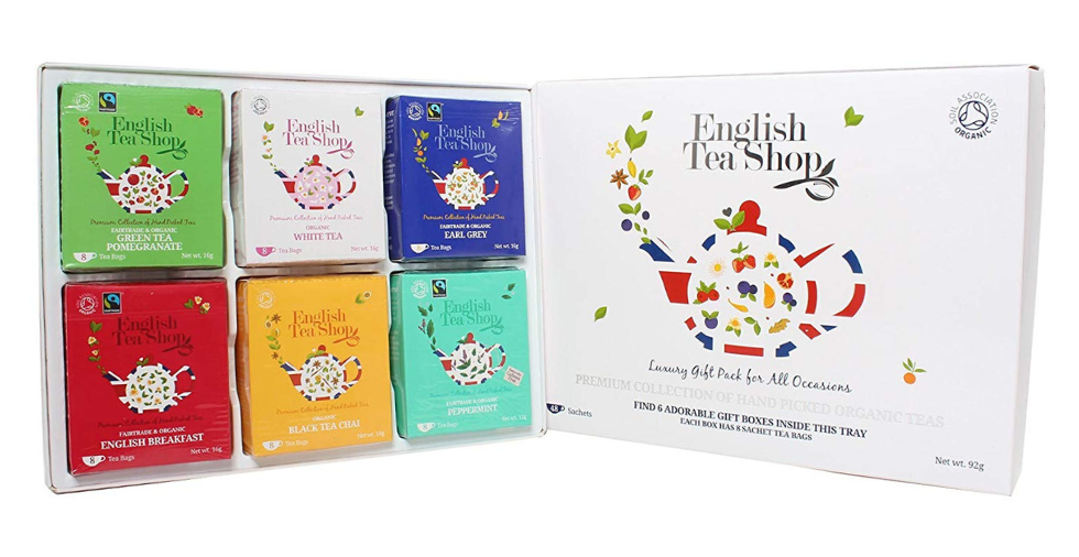 Free Giveaway: English Tea Shop Organic Luxury Gift Tray