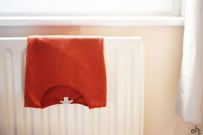clothes on a radiator