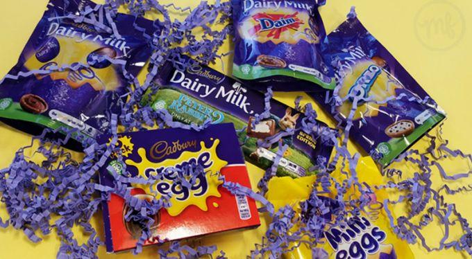 Free Cadbury Eggstravaganza Hamper