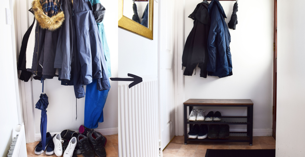 8 Entryway Organisation Ideas (Clever Hacks For Small Spaces!)