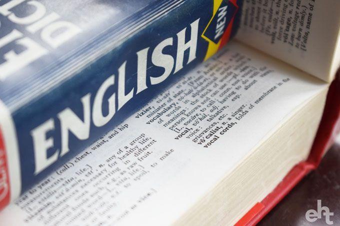 english vocabulary dictionary
