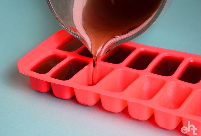 ice cube tray wax melts