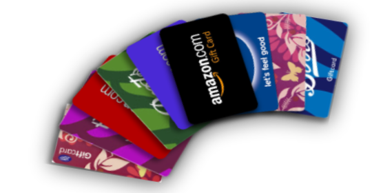 FreeFree Gift Cards for Talking about TV Shows