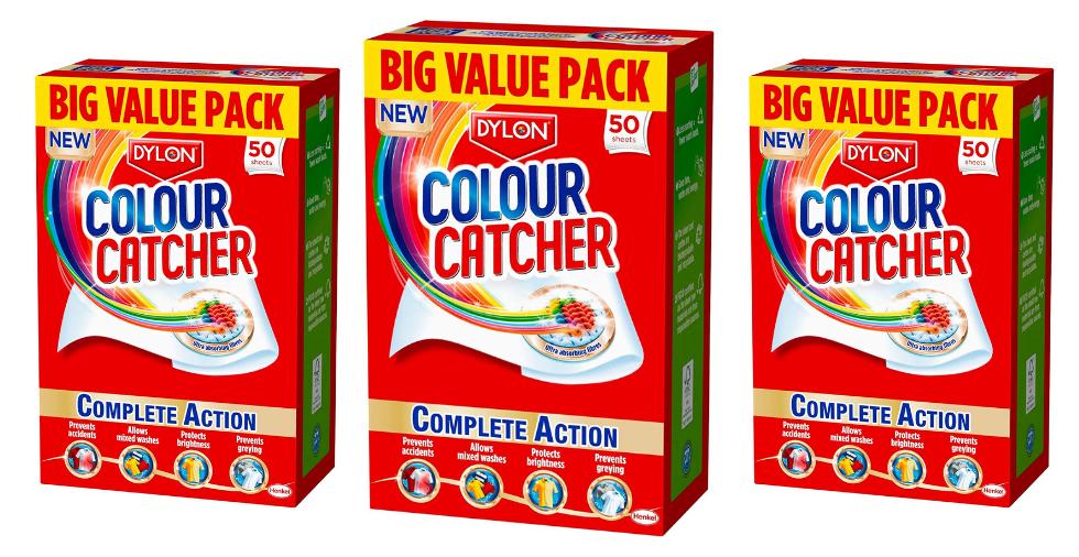 Free Giveaway: Dylon Colour Catcher Sheets